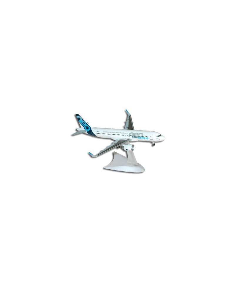 "Maquette plastique Airbus A320neo ""unbeatable fuel efficiency"" - 1/200e"