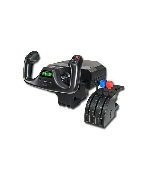 Commandes pour simulateur - volant standard et manette des gaz
