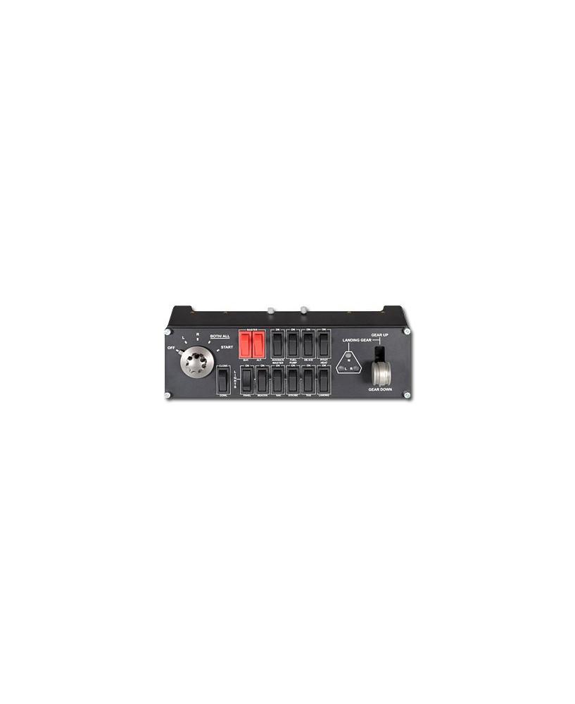 Commandes pour simulateur - tableau interrupteurs