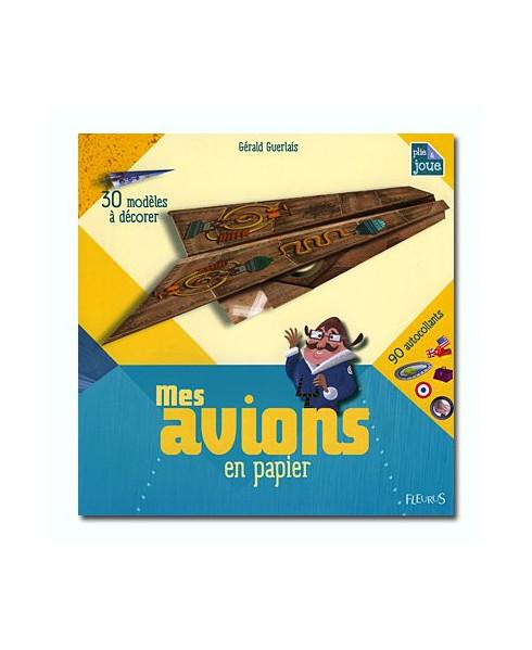 Mes avions en papier à décorer