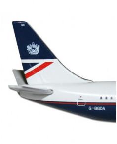 Maquette métal B737-200 British Airways anciennes couleurs - 1/500e