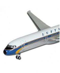 Maquette métal A321-200 Lufthansa Livrée Rétro - 1/500e