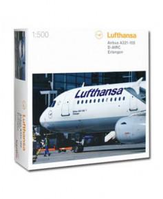 Maquette métal A321-100 Lufthansa - 1/500e