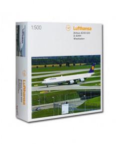 Maquette métal A340-600 Lufthansa - 1/500e