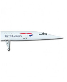 Maquette métal Concorde British Airways - 1/500e