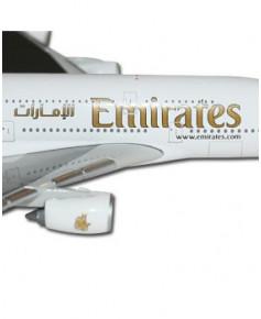 Maquette métal A380-800 Emirates - 1/500e
