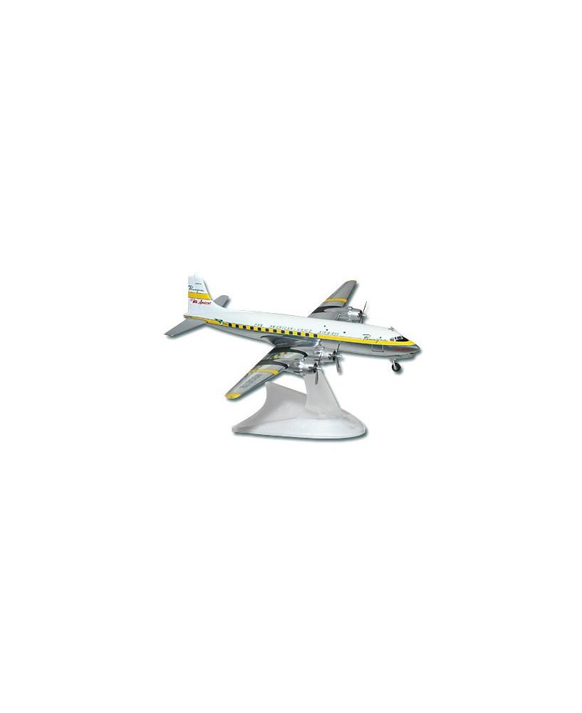 Maquette métal DC6 Pan American - 1/200e