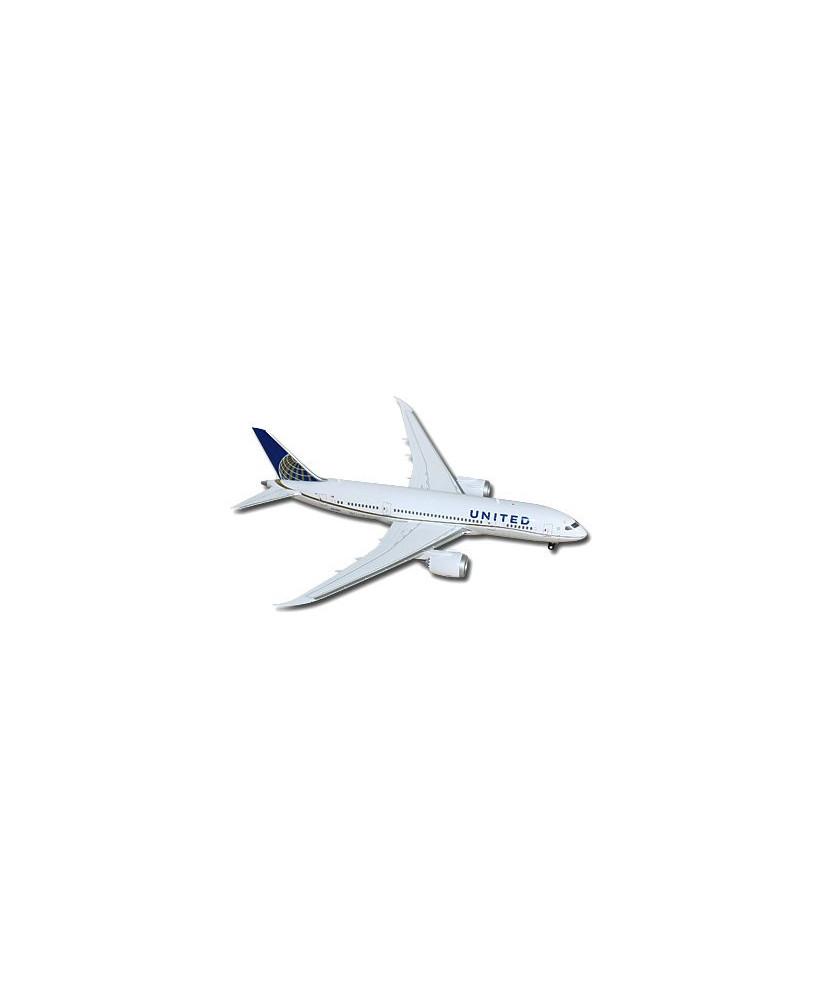 Maquette métal B787-800 United Airlines - 1/200e