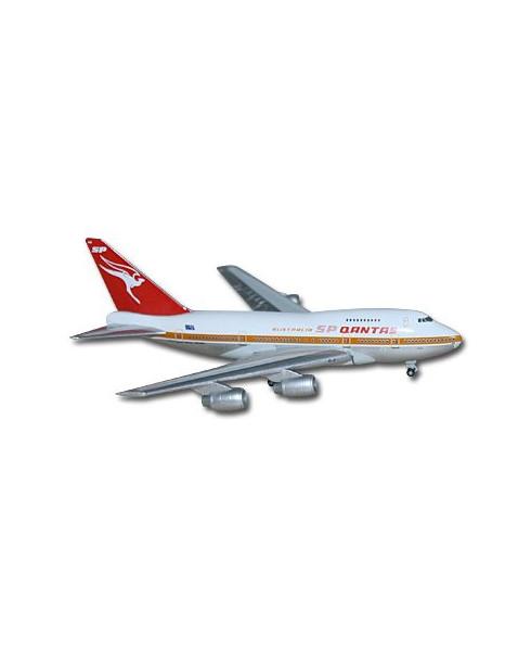 Maquette métal B747SP Qantas - 1/500e