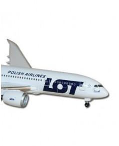 Maquette métal B787-800 LOT Polish Airlines - 1/500e