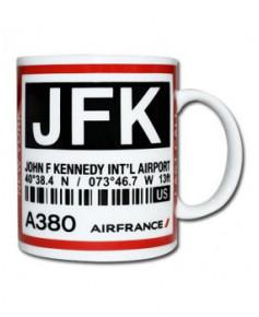 Mug bag-tag J.F.K. - Air France New York