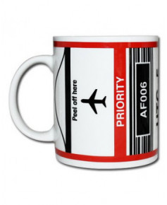 Mug bag-tag J.F.K. - Air France New York