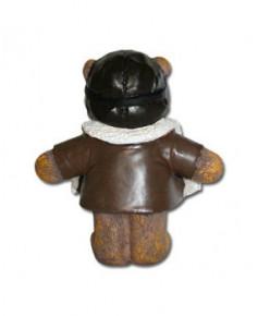 Statuette ourson aviateur 8 cm