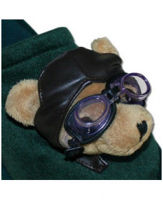 Pantoufles oursons aviateurs - Pointures 38-40