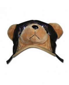 Casquette ourson aviateur