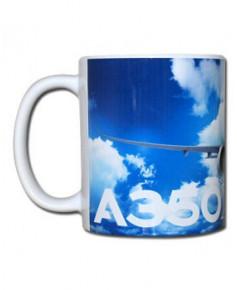 "Mug A350 XWB ""Airbus collection mug"" new generation"