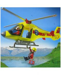L'hélicoptère de sauvetage en montagne Playmobil®
