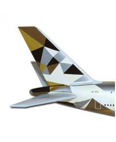 Maquette métal A380 Etihad Airways - 1/500e