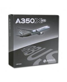 Maquette métal A350 XWB livrée carbone - 1/400e