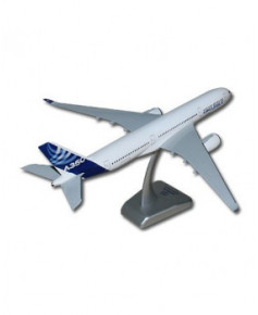 Maquette plastique A350-900 avec train d'atterrissage couleurs Airbus - 1/200e