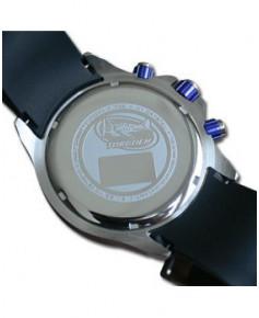 Montre Torgoen T35 303 - boîtier acier, cadran ivoire et bracelet caoutchouc