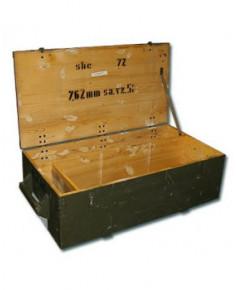 Caisse en bois usagée