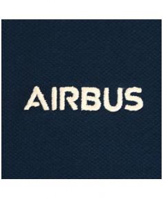 Polo bleu marine foncé Airbus - Taille L