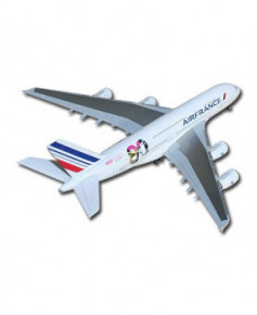 Maquette métal A380 80 ans Air France - 1/500e