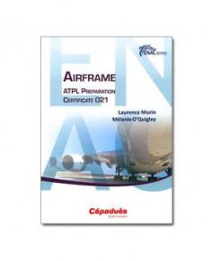 E.N.A.C. Airframe. A.T.P.L. Preparation Certificate 021