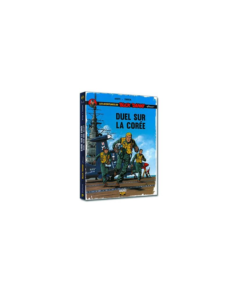 Les aventures de Buck Danny - Tome 2 : Duel sur MiG Alley - Coffret contenant un patch en tissu