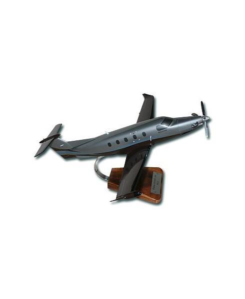 Maquette bois Pilatus PC12