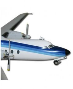 Maquette métal Fokker 27 Air Inter - 1/200e