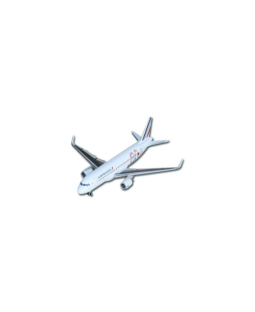 Maquette métal A320 80 ans Air France - 1/500e