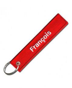 Porte-clés Remove Before Flight / François