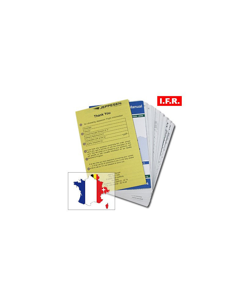 Trip kit I.F.R. France, Suisse, Belgique et Luxembourg