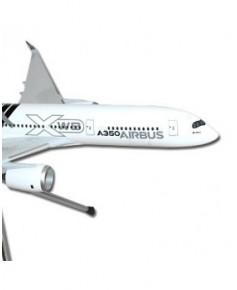 Maquette plastique A350 XWB Carbon - 1/200e