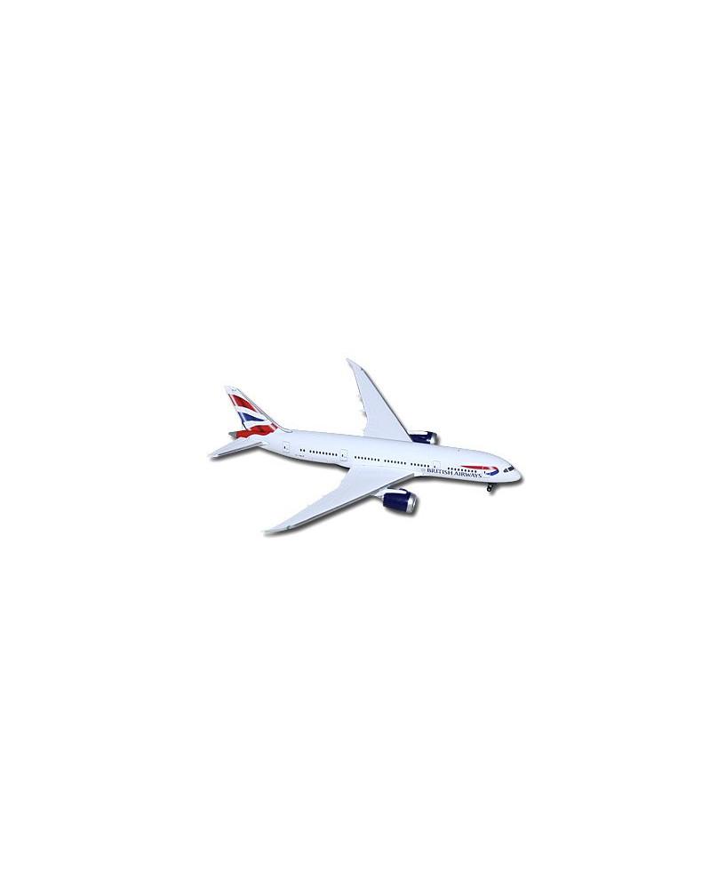 Maquette métal B787-8 Dreamliner British Airways G-ZBJF - 1/500e