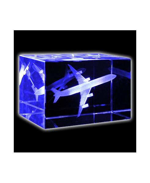 Bloc de verre A340 50x50x80 mm