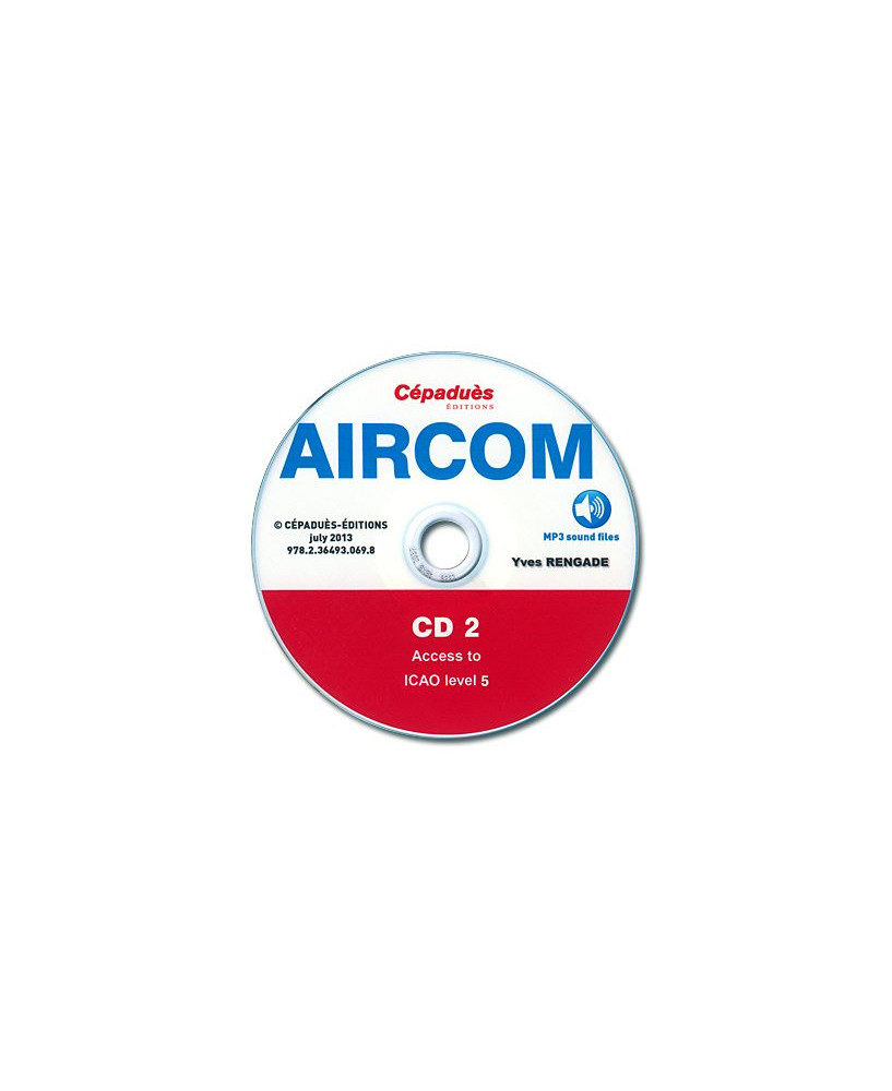 AIRCOM - English course in radio communications for airline pilots - Access to I.C.A.O. levels 4 et 5