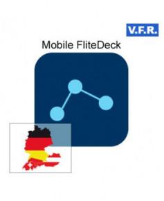 Mobile FliteDeck V.F.R. Allemagne, Autriche, Suisse - Trip kit