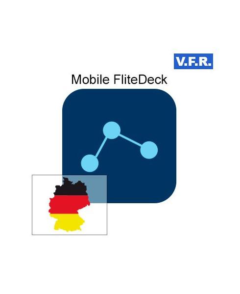Mobile FliteDeck V.F.R. Allemagne - Trip kit