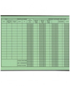 Carnet de vol Jeppesen Professional Pilot logbook