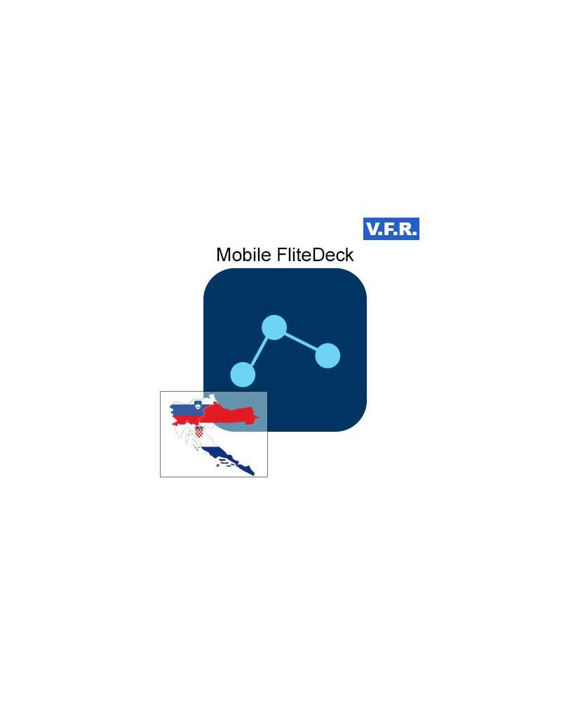 Mobile FliteDeck V.F.R. Croatie, Slovénie - Trip kit