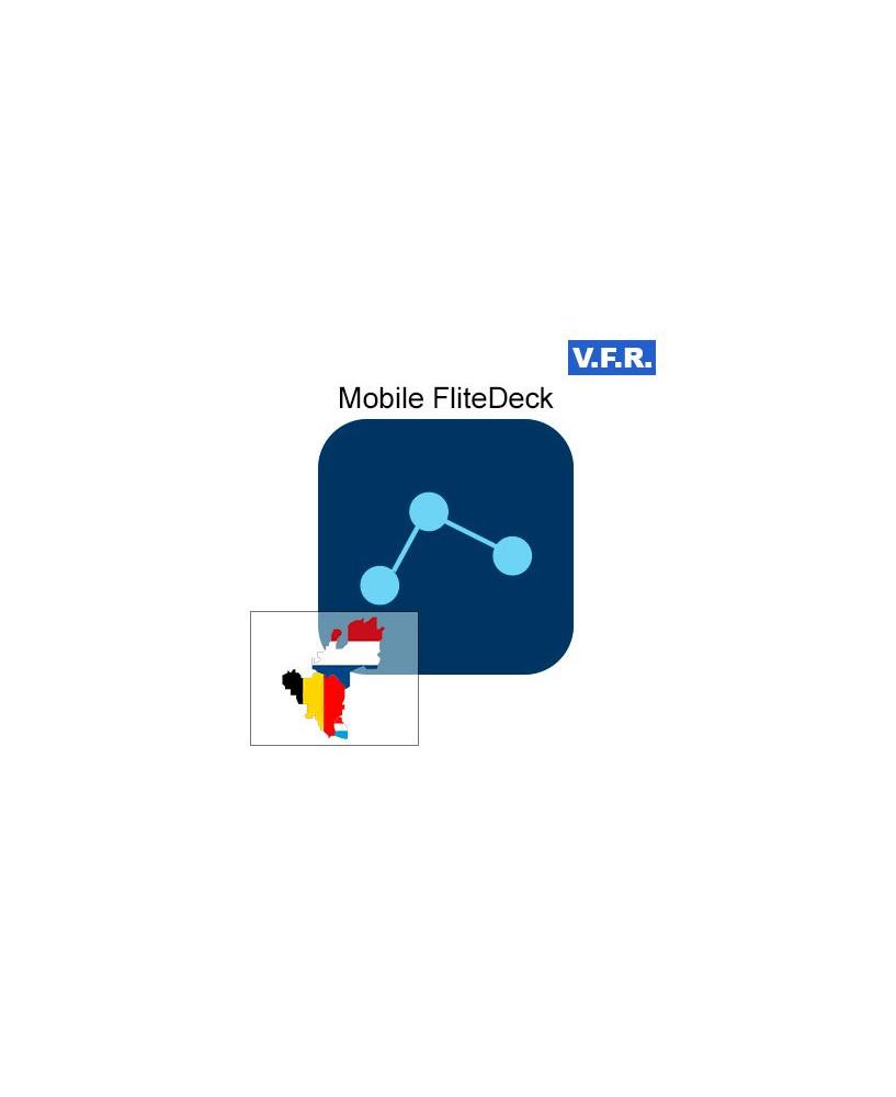 Mobile FliteDeck V.F.R. Benelux - Trip kit