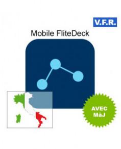 Mobile FliteDeck V.F.R. Italie avec mise à jour pendant 1 an
