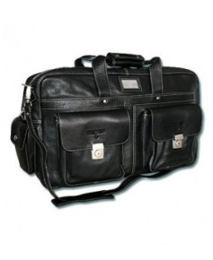 Sac aviateur Dornier noir - The Aviator's Choice