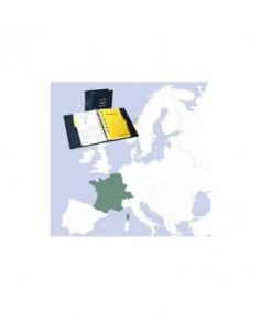 Atlas Jeppesen V.F.R. Manual France-Belgique-Luxembourg-Suisse avec classeur plastique - Édition Fox
