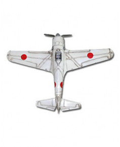 Maquette métal Mitsubishi Zero (blanc)