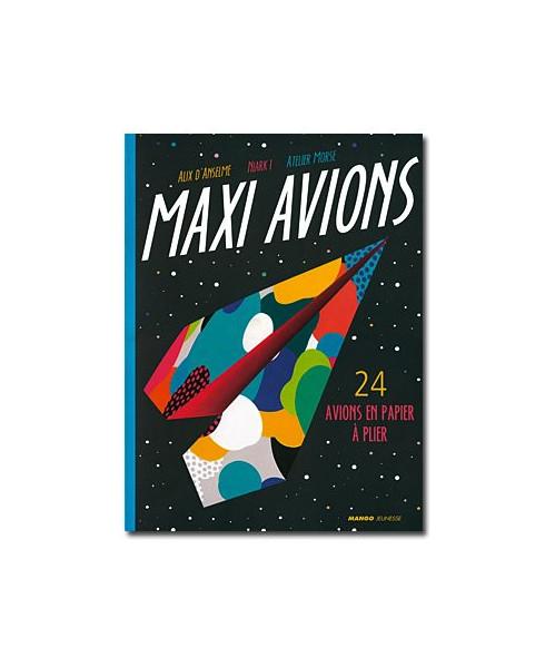 Maxi avions - 24 avions en papier à plier