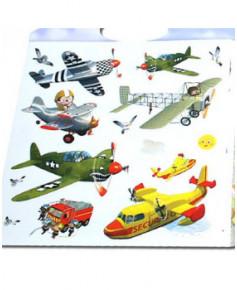 Les avions - Autocollants